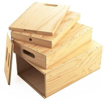 Apple Box Nested Set