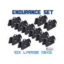 Sandbag Large HD Set 10 x 13 kg